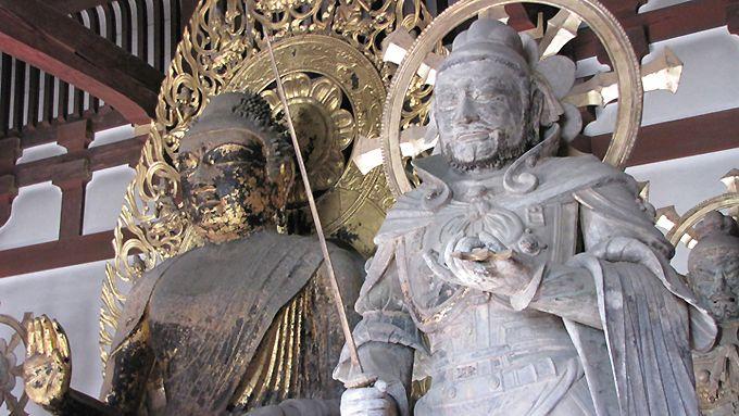當麻寺 弥勒仏 四天王
