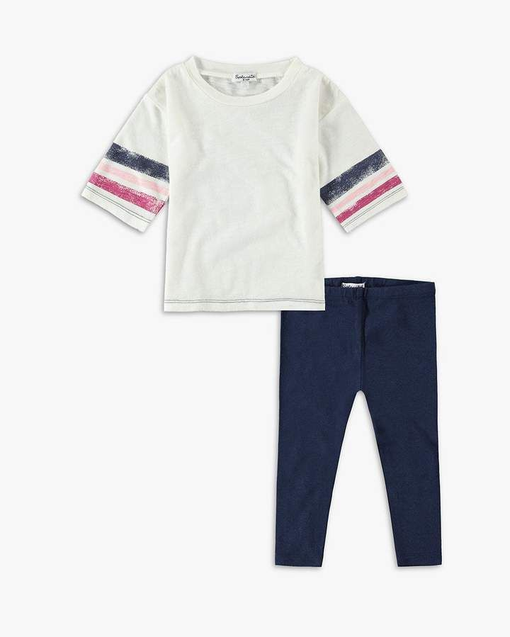acd695d7c Baby Girl Roller Stripe Tee Set #featuring#set#sleeves | Toys 5 Year ...