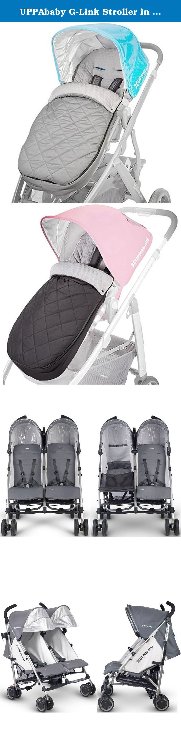 UPPAbaby GLink Stroller in Pascal With CozyGanoosh