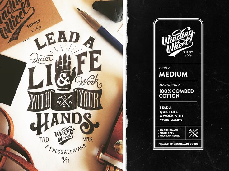 Winding Wheel Supply Co Tags by Nicholas D'Amico