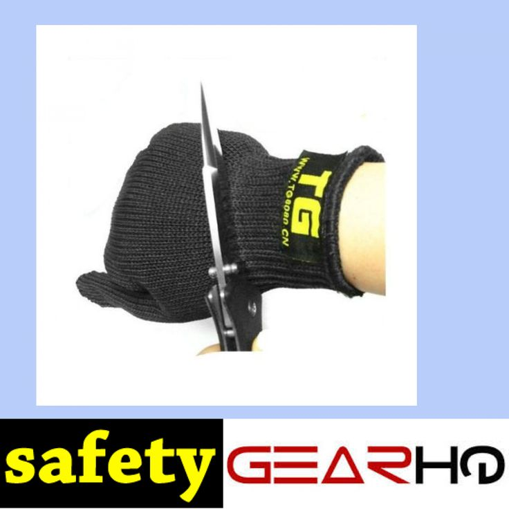 Stainless Steel Wire Mesh Gloves https://www.safetygearhq.com/product/personal-safety/safety-gloves/stainless-steel-wire-mesh-gloves/