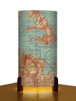 Auckland Map – Table Lamp | Design Withdrawals