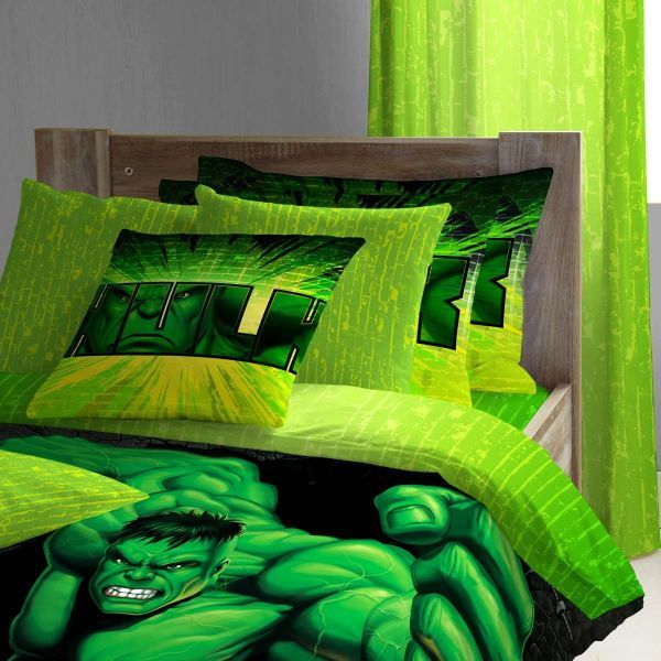 incredible bedroom loft bed boys | Boys Bedding: 28 Superheroes Inspired Sheets | Boys ...