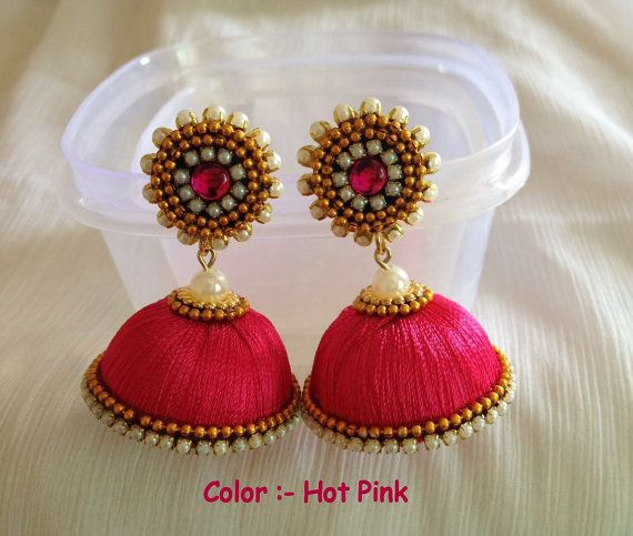 I ordered blanks to make my own jhumkas. This shop is nicely priced and great to work with.  I ordered a kit to make myself.