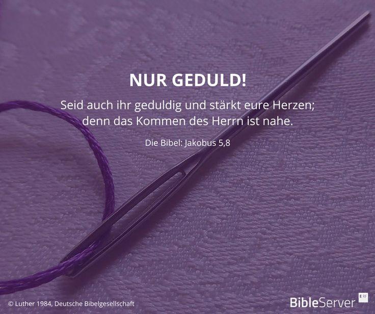 Bibelvers nachzulesen in der Bibel auf #BibleServer | Jakobus 5,8