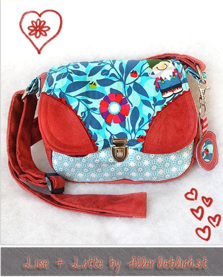 Taschen Liselotte by #Allerlieblichst