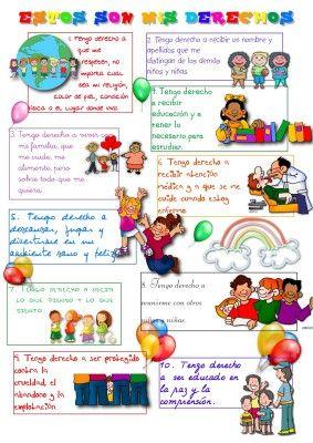 Derechos del niño y la niña a la Educacion Materiales para todas las Etapas - Orientacion Andujar