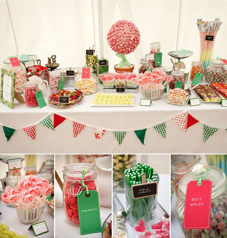 Sweet Wedding Table | www.itakeyou.co.uk