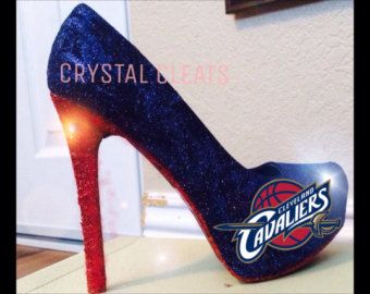 CLEVELAND CAVALIERS CAVS Basketball high heel stiletto shoes Custom Made