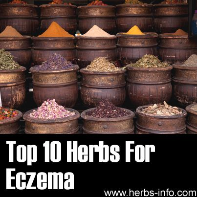 Top 10 Herbs For Eczema