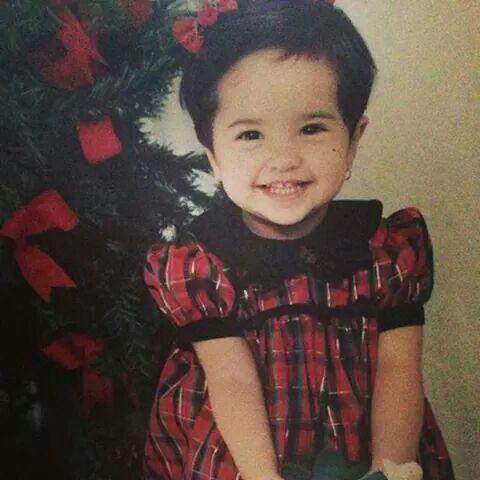 Becky g when she was little!