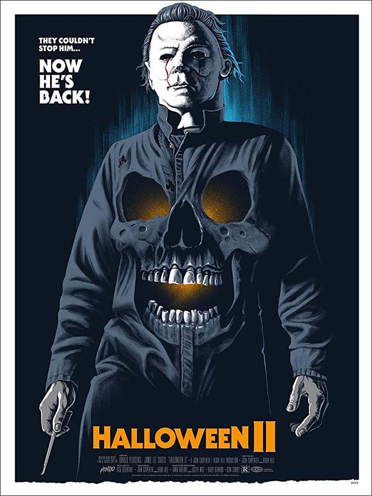 Halloween II 1981 in 2020 Halloween ii, Michael myers