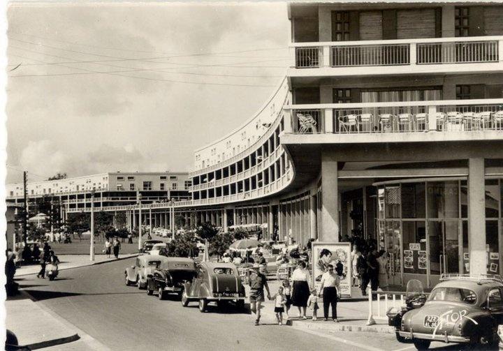 Front de mer et cinéma dans les années 50 - Royan