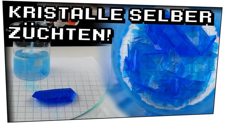 Kristalle zuhause züchten! (Kupfersulfat) - Heimexperimente #40