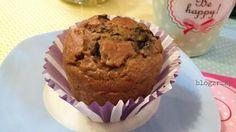 Blog Zrzky: Recept / Banánové muffiny ze špaldové mouky