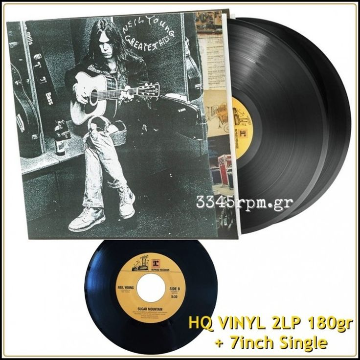 Young, Neil - Greatest Hits - HQ Vinyl 2LP 180gr & 7inch