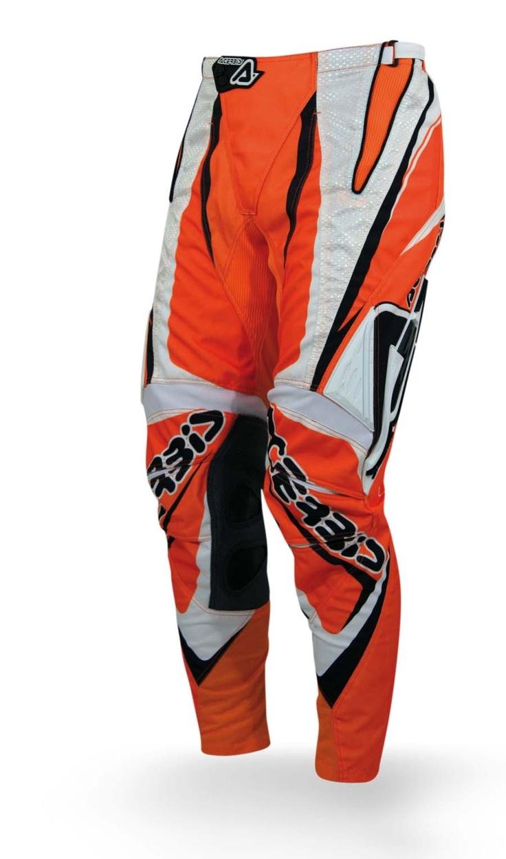 Pantaloni arancione acerbis blaze