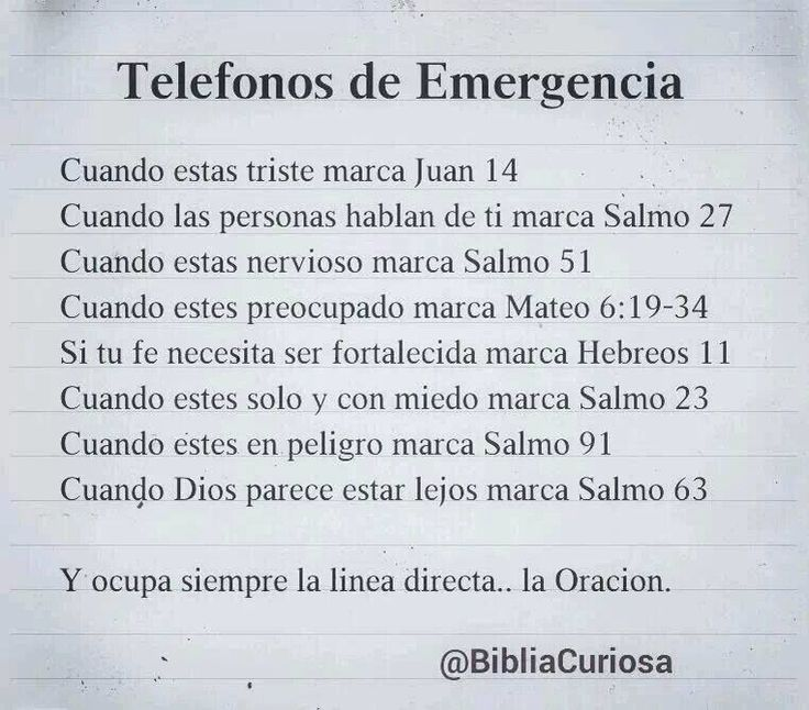 Casos de Emergencia
