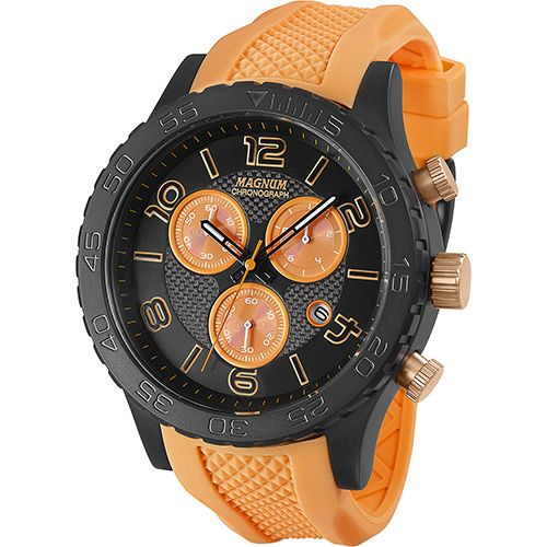 Relógio Masculino Magnum Analógico Cronógrafo com Calendário MA 33504J