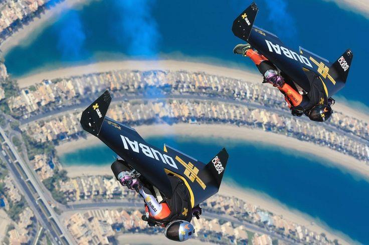 Best Crazy Tech John Images On Pinterest Dubai Jet Packs - Crazy video of two guys flying jetpacks over dubai