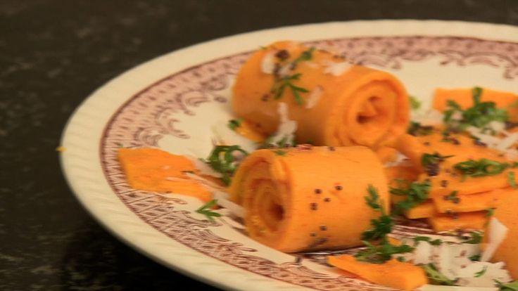 How to Make Khandvi recipe by Toral Rindani