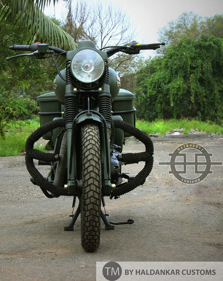 Military Green Royal Enfield bullet in India for sale