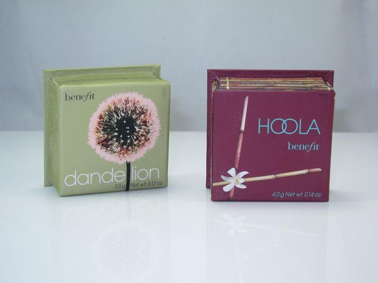 Benefit Hoola Mini and Benefit Dandelion Mini