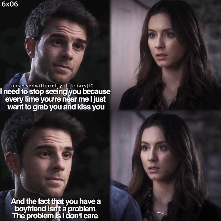 #6x06 #prettylittleliars #pll Spencer has a bit of Spoby trouble everytime youre near me i just want to grab you and kiss you & idgaf if you have a bf