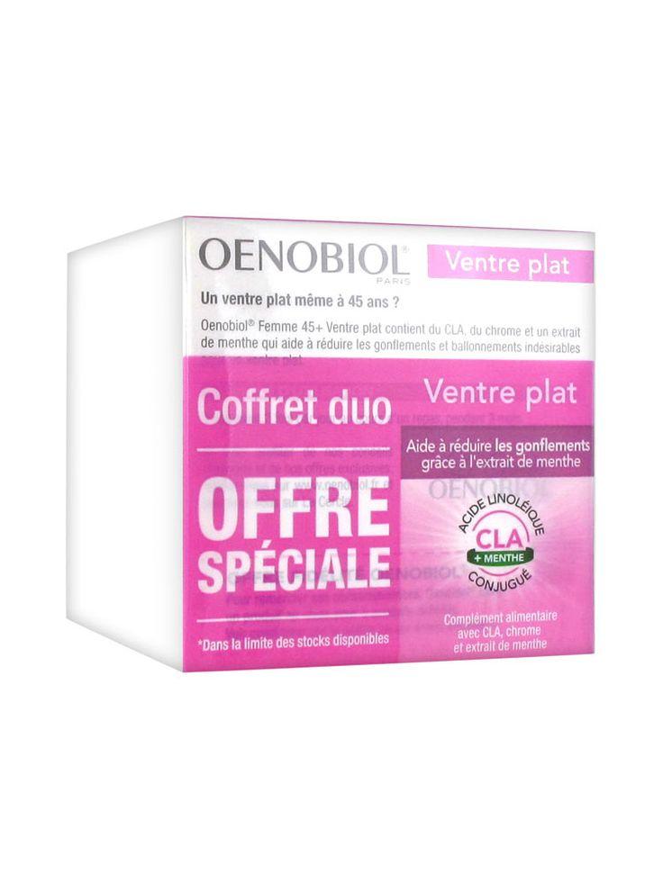 Oenobiol Женщины 45+ плоский живот 2 х 60 Гель-Caps