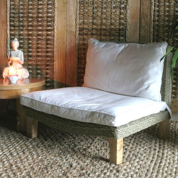 This Magnificent Sea-grass Meditation Chair Is The Perfect