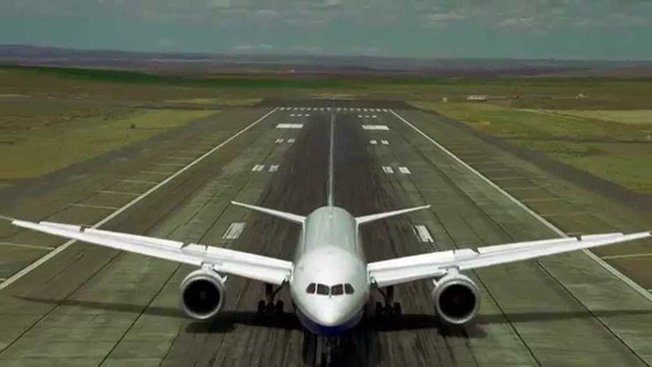 Boeing Demonstrates the Impressive Maneuverability of Its New 787-9 Dreamliner Jumbo Jet
