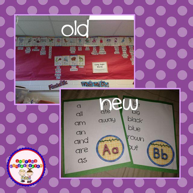 Sharing Kindergarten: Classroom Decor