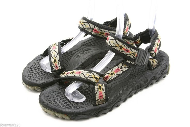 TEVA mens sandals Size 10 Valkyrie brown waterproof river water sport shoes  #Teva #SportSandals