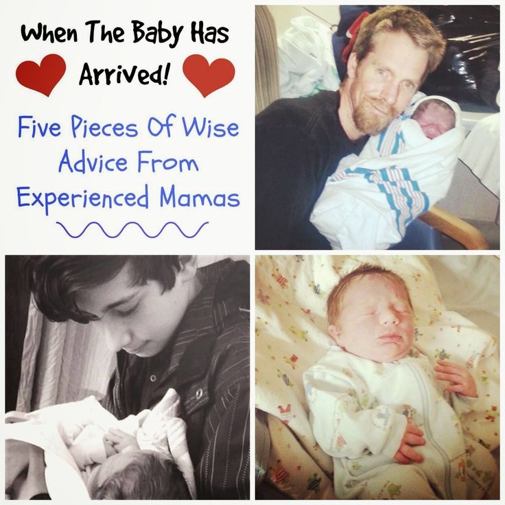 When The Baby Has Arrived: 5 Pieces Of Wise Advice From Experienced Mamas!!!  #parenting #newborns  AND a Mom 2 Mom Link Up Party!