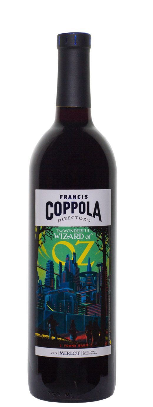 2014 Francis Coppola Merlot Directors Great Movies - The Wonderful Wizard of Oz - Buy Wine Online | B-21 Wine, Liquor & Beer