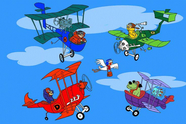 """""""Dastardly e Muttley e le Macchine Volanti"""", più noto come """"Lo Squadrone Avvoltoi"""", era una serie televisiva a cartoni animati degli inizi degli anni 70′. Chi di voi si è mai imbattuto in qualche loro video su YouTube?"""