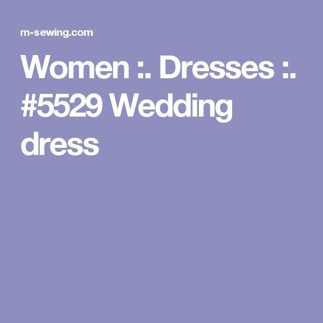Women :. Dresses :. #5529 Wedding dress