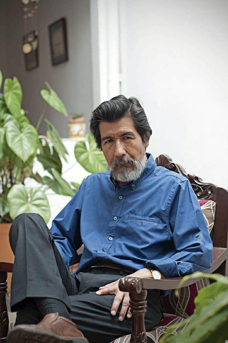 Premio Nacional de Literatura, Maestro Horacio Benavides. Foto cortesía del autor.