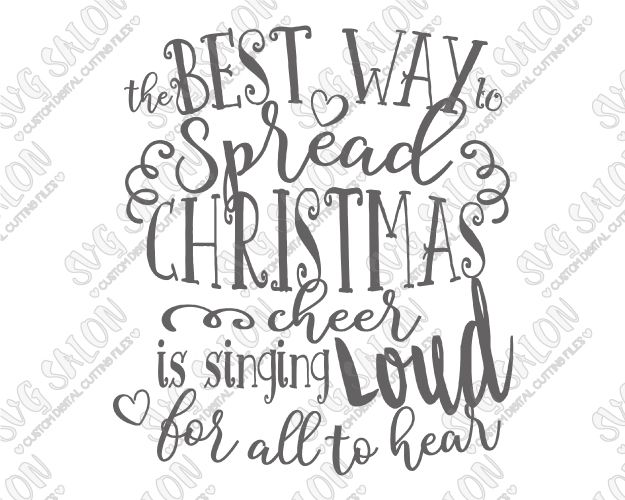 Free Christmas Printables With Favorite Movie Quotes: 214 Best Images About Christmas SVG Cutting Files