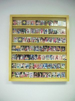 Monster Walmount Baseball card display case will hold 50-100 ungraded baseball cards 1 100100