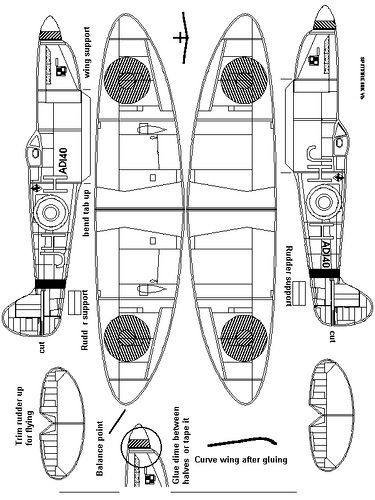 airplane cut out template - 1000 images about balsa models on pinterest