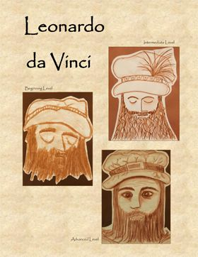 Da Vinci Art Projects for Kids:  Renaissance artist Leonardo da Vinci is best known for his realistic portraits.  He was a master at studying the lines and shape of a person's face.  He very slowly and carefully observed the textures, shapes, and unique details for his drawings and oil paintings.