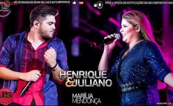 MARÍLIA MENDONÇA HENRIQUE E JULIANA 2018 ( SÓ MUSICA NOVA).