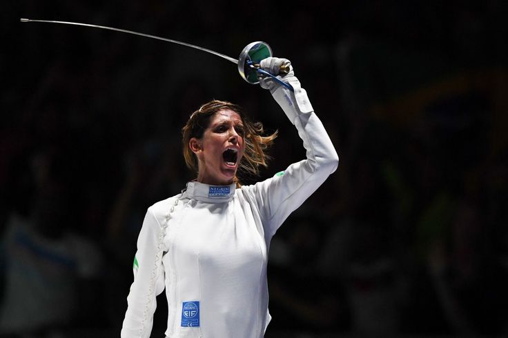 Day 1:  Fencing - Women's Individual Epee - Nathalie Moellhausen of Brazil