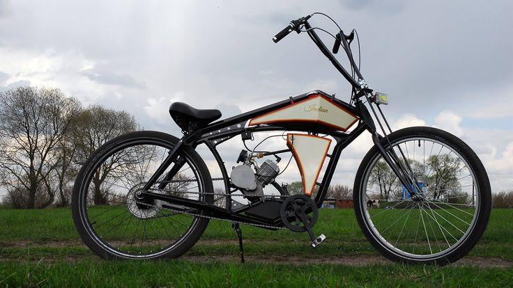 Board tracker (велосипед с мотором) часть 2