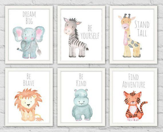 Safari Animal Prints Animals
