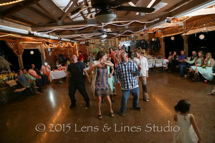 Fun Rustic Wedding Reception Off Camera Flash Adds A Great Touch And Lighting Effect