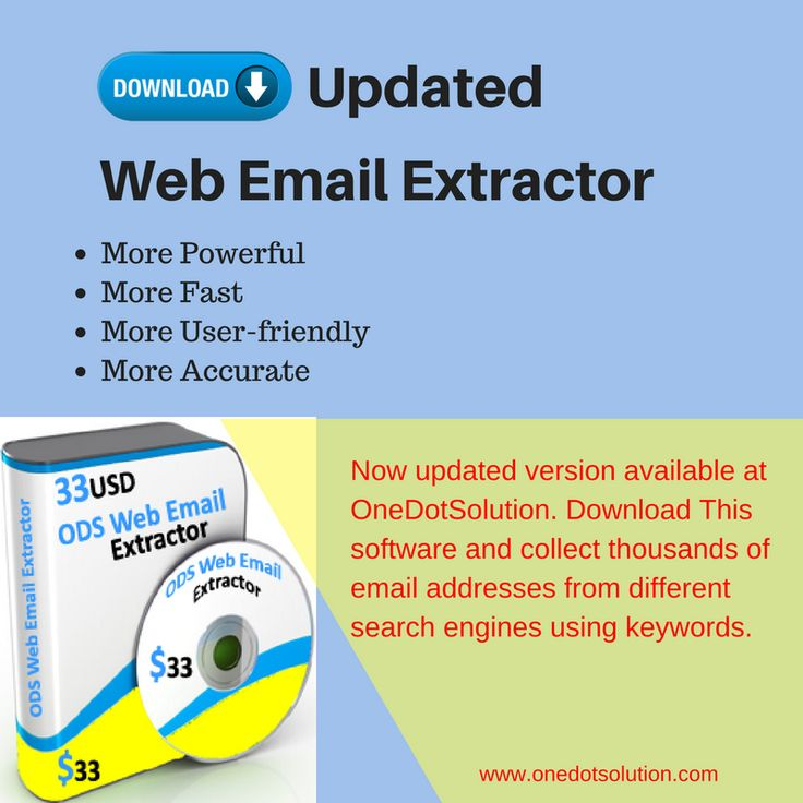 Now collecting email addresses from internet became more easy. Download updated version of web email extractor and create your list of email ids of your choice. #emailextractor #emailmarketing #software
