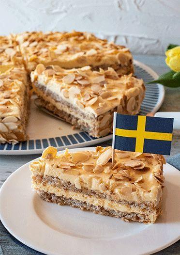 Schwedische Mandeltorte