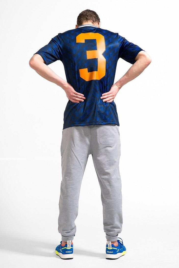 adidas Blue Soccer Jersey Tee #urbanoutfitters